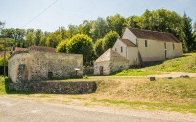 Sainte-Aubierge et la source